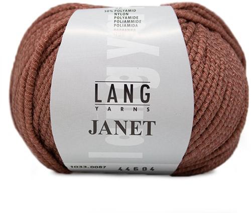 Lang Yarns Janet 087 Rosewood