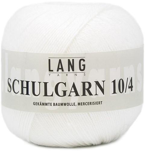 Lang Yarns Schulgarn 001 White