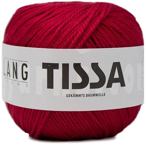 Lang Yarns Tissa 063 Dark Red