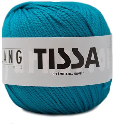 Lang Yarns Tissa 088 Dark Turquoise