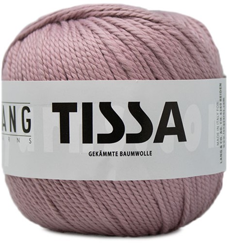 Lang Yarns Tissa 119 Light Rose