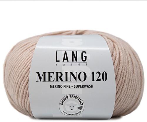 Lang Yarns Merino 120 096 Light Beige