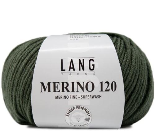 Lang Yarns Merino 120 098 Olive