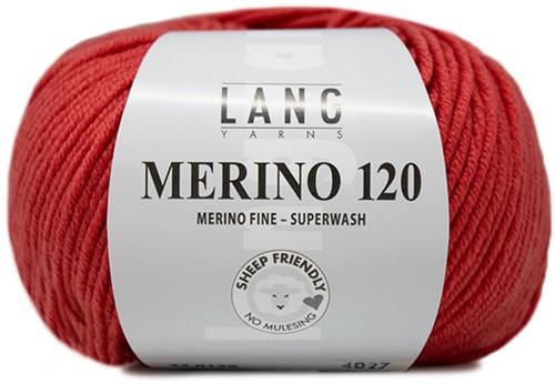Lang Yarns Merino 120 129 Melon