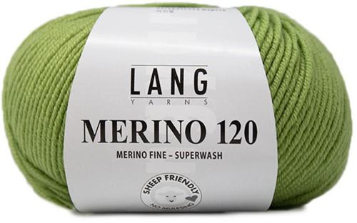 Lang Yarns Merino 120 198 Light Olive