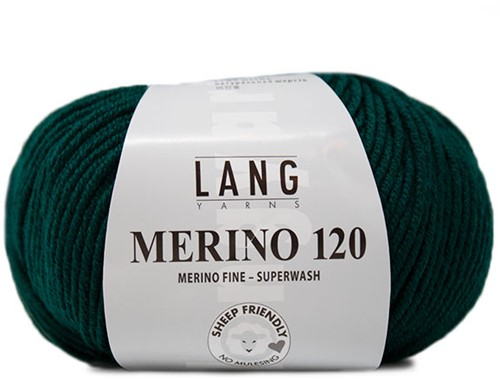 Lang Yarns Merino 120 217 Fir