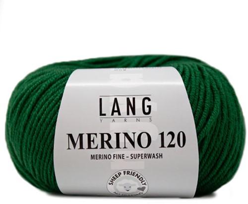 Lang Yarns Merino 120 417 Green