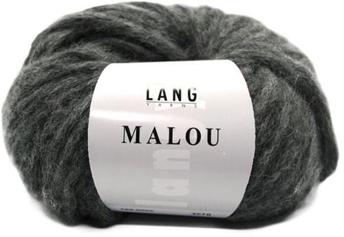 Lang Yarns Malou 5 Dark Grey