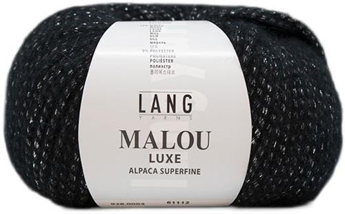 Lang Yarns Malou Luxe 004 Black