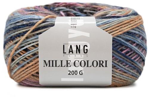 Lang Yarns Mille Colori 200 Gr. 6 Blue/Purple