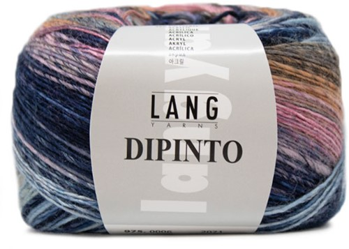 Lang Yarns Dipinto 6 Blue/Lilac