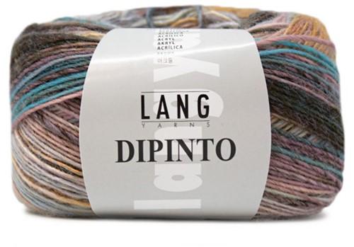 Lang Yarns Dipinto 9 Rose/Yellow/Turquoise