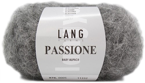 Passione Asymmetrical Sweater Knit Kit 2 Grey Mélange
