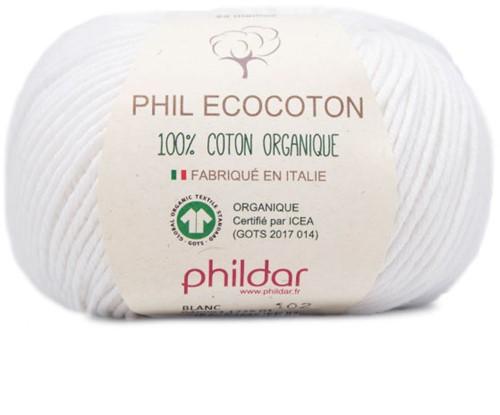 Phildar Phil Ecocoton 1225 Blanc