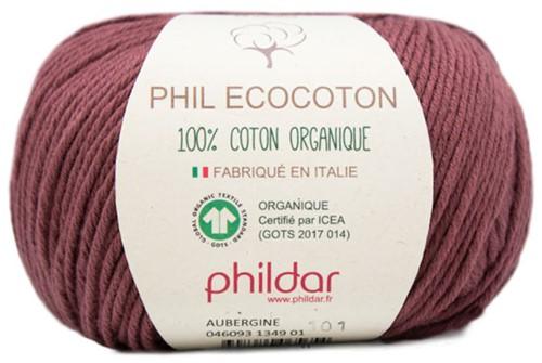 Phildar Phil Ecocoton 1349 Aubergine
