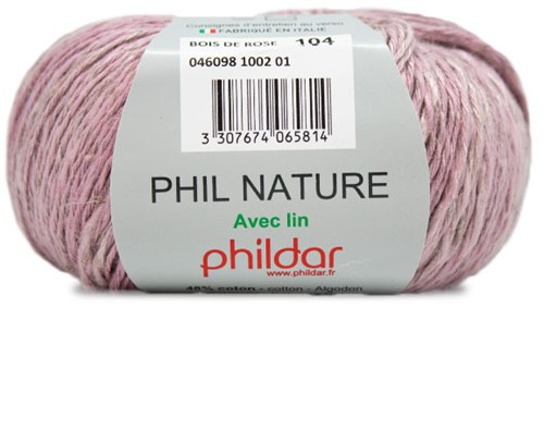 Phildar Phil Nature 1002 Bois de Rose