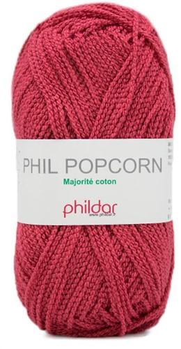 Phildar Phil Popcorn 1002 Framboise