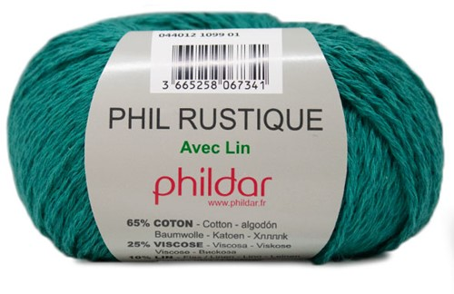 Phildar Phil Rustique 1099 Emeraude