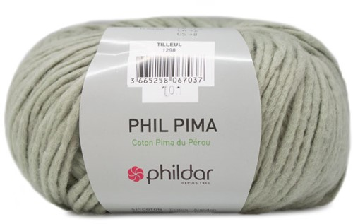 Phildar Phil Pima 1298 Tilleul
