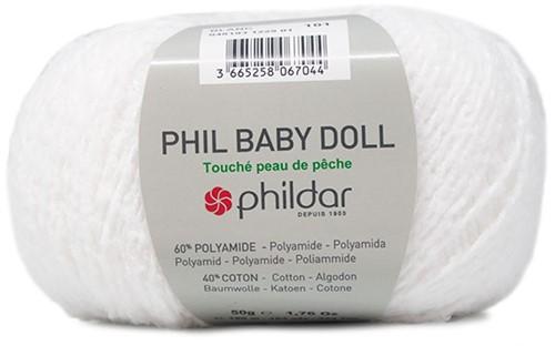 Phildar Phil Baby Doll 1225 Blanc