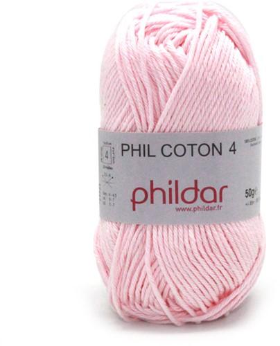 Phildar Phil Coton 4 1149 Rosee