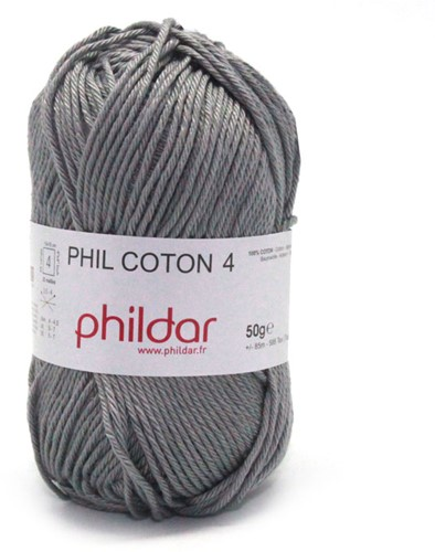 Phildar Phil Coton 4 1399 Elephant