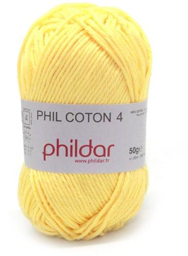 Phildar Phil Coton 4 1440 Citron