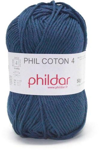Phildar Phil Coton 4 1446 Marine