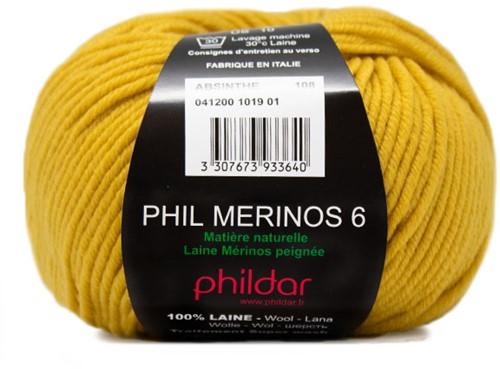 Phildar Phil Merinos 6 1019 Absinthe