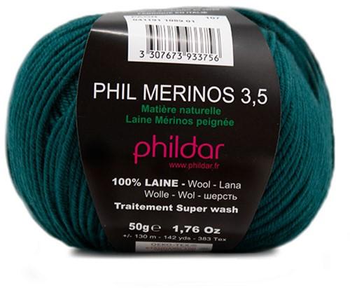 Phildar Phil Merinos 3.5 1089 Paon