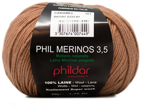 Phildar Phil Merinos 3.5 2333 Caramel