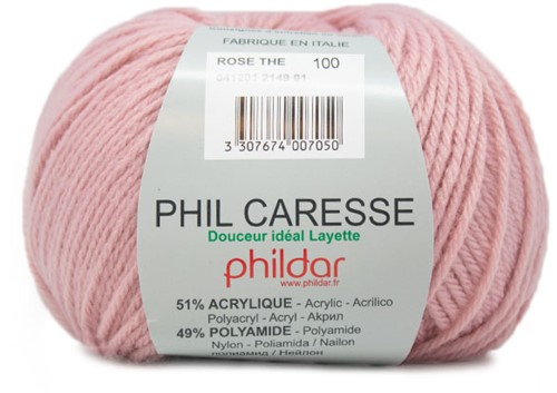 Phildar Phil Caresse 2149 Rose Thé