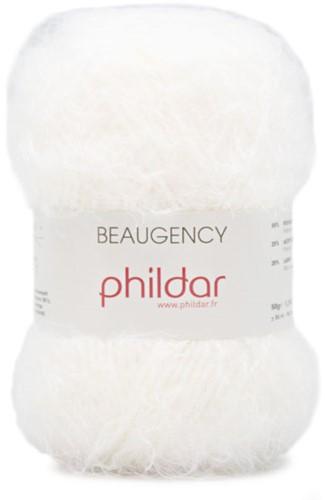 Phildar Phil Beaugency 1225 Blanc
