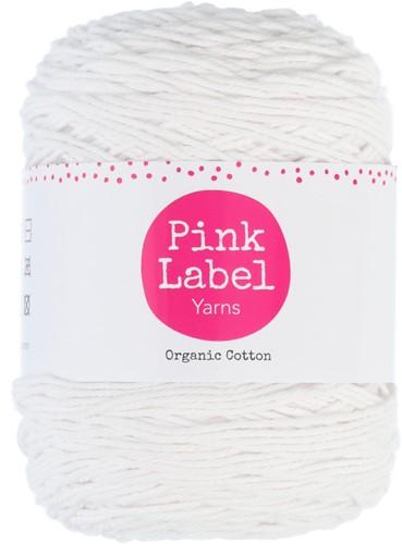 Pink Label Organic Cotton 056 Daisy - Bright white