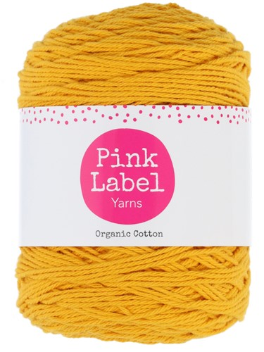 Pink Label Organic Cotton 082 Jane - Cosy yellow