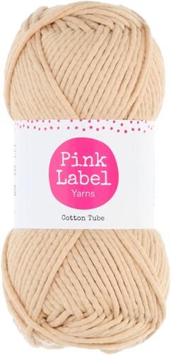 Cotton Tube Basket Crochet Kit 1 Beige