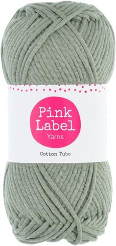 Cotton Tube Ladies Cardigan Knitting Kit 2 Misty green XS/S
