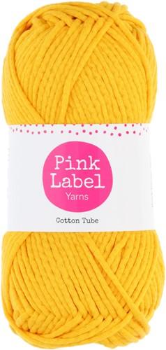 Cotton Tube Ladies Cardigan Knitting Kit 1 Cosy yellow M/L