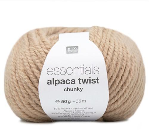 Rico Essentials Alpaca Twist Chunky 002 Camel