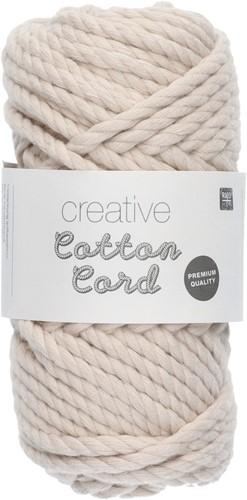 Rico Creative Cotton Cord 001 Nature
