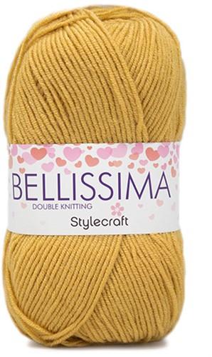 Stylecraft Bellissima DK 3925 Mellow Yellow
