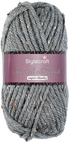 Stylecraft Special XL Tweed Super Chunky 1099 Grey