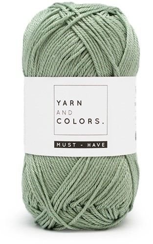 Yarn and Colors Foldable Net Bag Crochet Kit 080 Eucalyptus