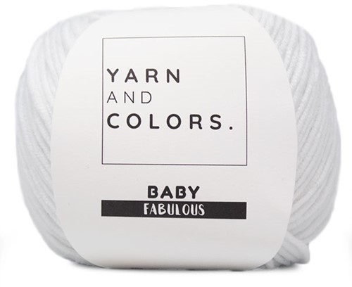 Yarn and Colors Baby Fabulous 001 White