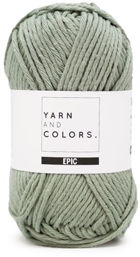 Yarn and Colors Oh Baby! Sweater Knitting Kit 080 Eucalyptus