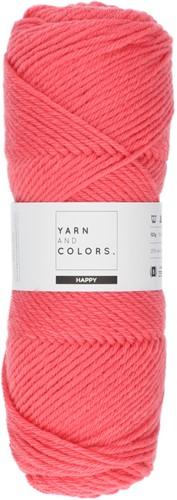 Yarn and Colors Maxi Cardigan Crochet Kit 5 L/XL Pink Sand