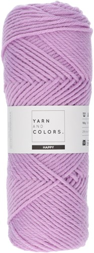 Yarn and Colors Maxi Cardigan Knitting Kit 7 S/M Orchid