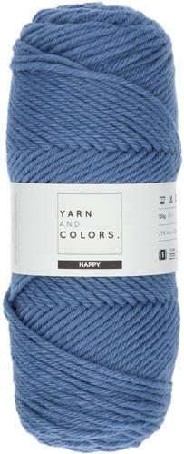 Yarn and Colors Maxi Cardigan Crochet Kit 8 L/XL Denim