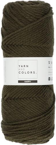 Yarn and Colors Maxi Cardigan Crochet Kit 11 L/XL Khaki