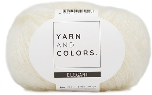 Yarn and Colors Cloud Cardigan Crochet Kit S/M 002 Cream